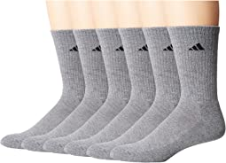 adidas Athletic 6-Pack Crew Socks