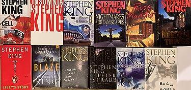 Stephen King Hardcover Novel Collection 12 Book Set