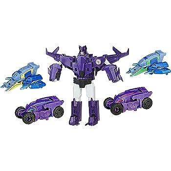 Crash COMBINATORE Saberclaw Transformers Figure Azione Divertente Robot Giocattolo per Ragazzi