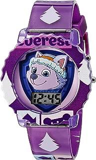 Kids' PAW4020 Digital Display Quartz Purple Watch