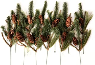 CraftMore Set of 12 Wild Wood Pine Picks
