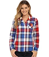 U.S. POLO ASSN. - Plaid Poplin Single Pocket Woven Shirt