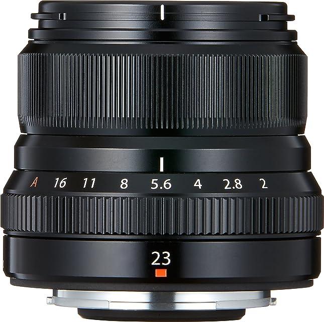 Fujifilm Fujinon - Lente para Objetivo XF 23 mm F2 R WR Negro
