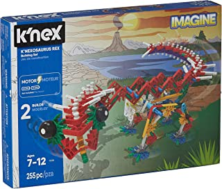 K'NEX Beasts Alive – K'NEXosaurus Rex Building Set – 255 Pieces –  Ages 7+ Engineering Educational Toy (Renewed)