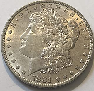 1887 P Silver Morgan Wild West Era Dollar XF