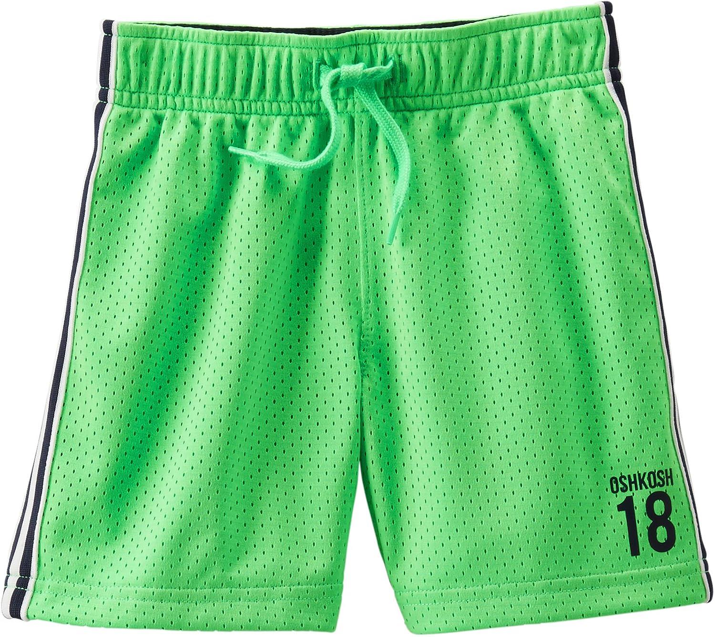 Carter's OshKosh B'gosh Little Boys Mesh Shorts Green 2T