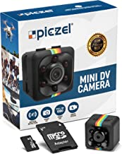 Hidden Spy Camera | SD Card Included | Mini Portable Wireless Security Dashcam Motion Detection Indoor & Outdoor Surveillance - Home Office - Car Video Recorder 1080p Night Vision - Small Drone