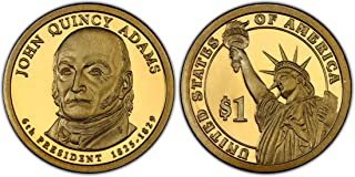 2008 S John Quincy Adams Presidential Dollar Cameo Dollar GEM Proof US Mint