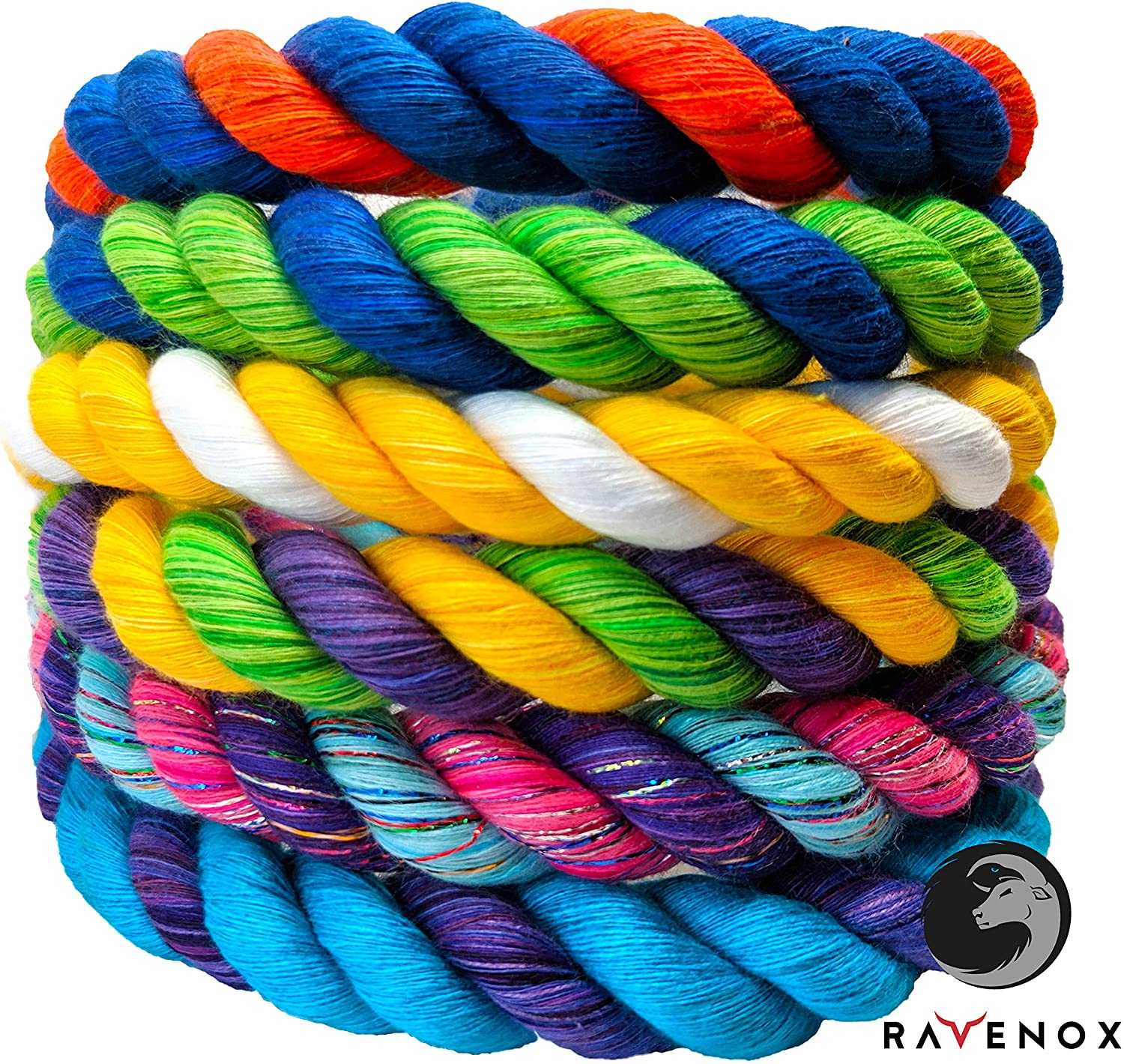 Ravenox Colorful Twisted Cotton Rope Ranking TOP13 online shop in Custom The Made USA