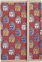 Manjusha (A Govt of West Bengal Undertaking Enterprise) Handicraft Cotton File Folder, Red (137)