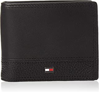 Tommy Hilfiger TH B Mini Cc Wallet Money Clip Men Wallets, Card Cases & Money Organizers, Black, Am0Am05010
