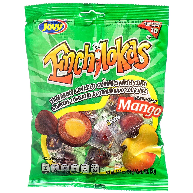 Jovy Enchilokas Mango Flavor Mexican Gummies gift oz. 5.29 Bags Fort Worth Mall 12 x