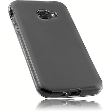 mumbi Funda compatible con Samsung Galaxy Xcover 4 / 4S, negro claro