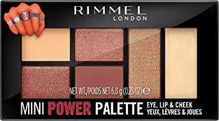 Rimmel London Mini Power Eye Shadow Palette, 06 Fierce, 7 gm
