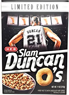 duncan o's cereal