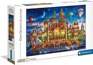 Clementoni-Downtown-6000 pièces-Puzzle Adulte-fabriqué en Italie, 36529