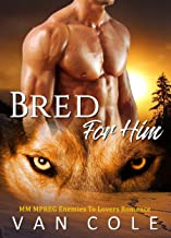 Bred For Him: MM MPREG Enemies To Lovers Romance (English Edition)