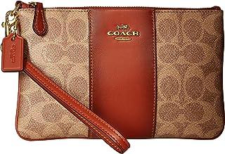 حقيبة معصم للنساء من كوتش - بني