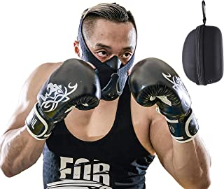 Training Mask - Workout Mask, Elevation Mask for High Altitude Oxygen Deprivation Exercise. Men & Women Fitness in Sports Performance, Running, Boxing, Cardio Conditioning, Breathing Restriction