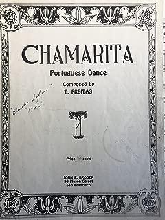 Chamarita (Portuguese Dance) Piano Solo