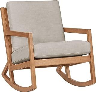 Stone & Beam Modern Hardwood Rocking Chair, 24.5