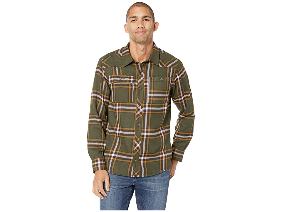 Outdoor Research Feedback Flannel Shirttm (Juniper Plaid) Men's Long Sleeve Button Up