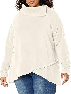 Aventura Women's Plus Size Darcy Fleece Top