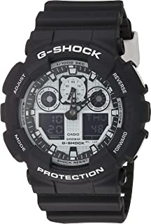 Casio G-Shock GA-100BW-1A White and Black Series Luxury...