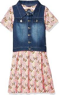 فستان قصير جدًا مع سترة أو جاكيت