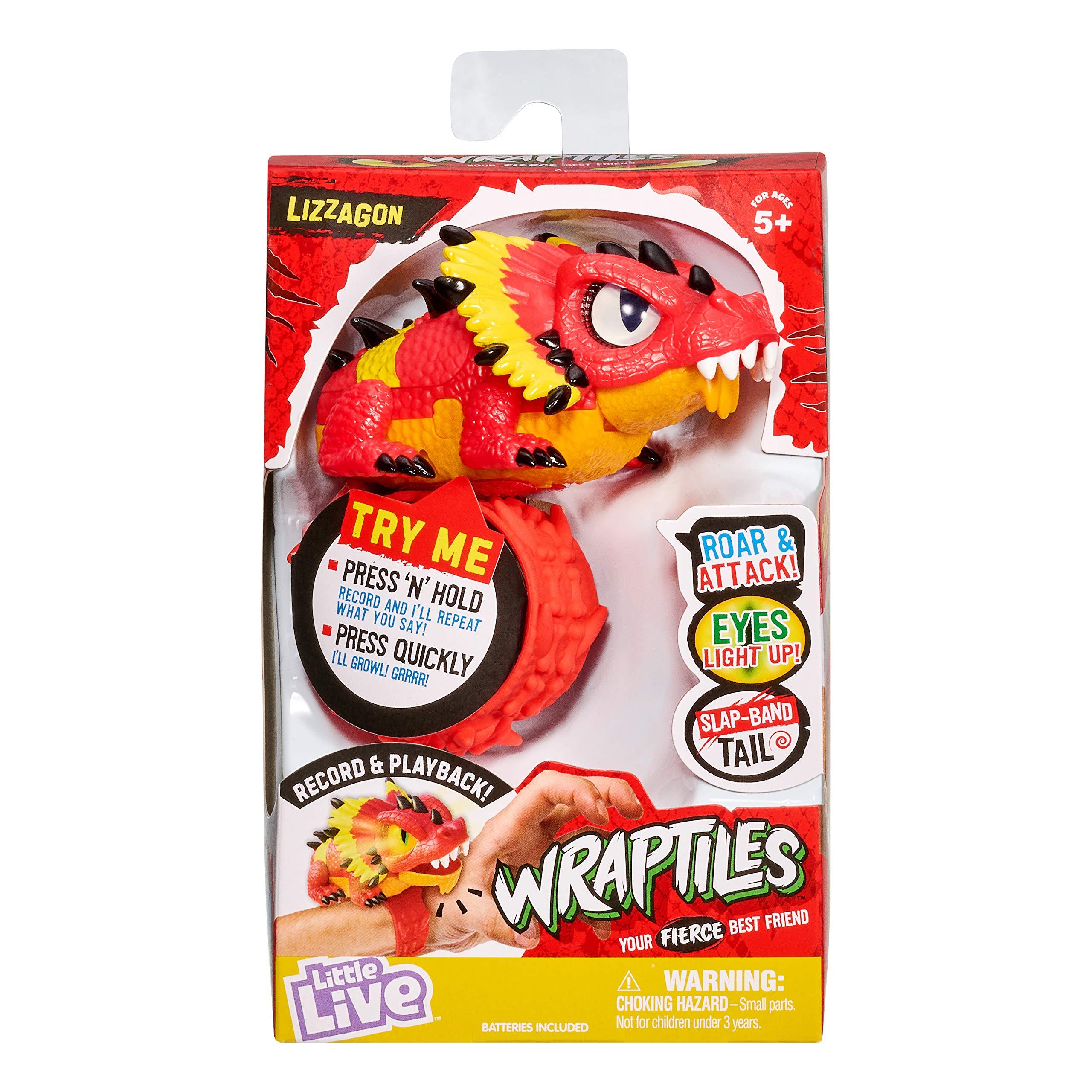 Little Live Pets 28991 Little Live Wraptiles Single Pack-Lizzagon, No Colour