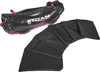 TITAN FITNESS 60 lb Heavy Duty Workout Weight Sandbag Exercise Training Bag