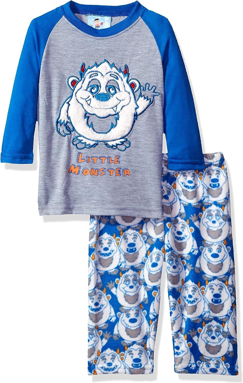 Bunz Kidz Boys' Monster 2pc Pajama Set