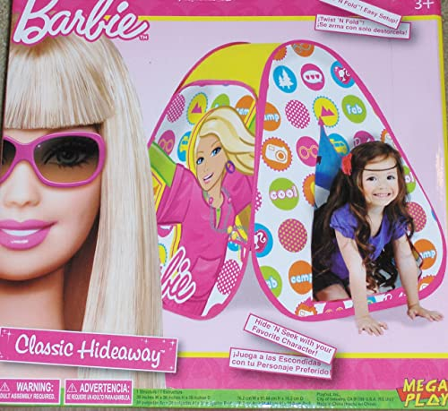 Barbie Classic Hideaway Play Tent PLAYHUT by PLAYHUT (English Manual)