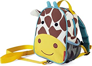 Skip Hop Zoo let Mini Backpack with Rein, Giraffe