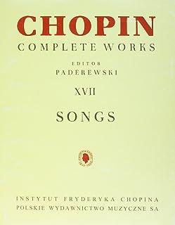 Songs: Chopin Complete Works Vol. XVII
