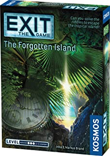 Thames and Kosmos 692858 EXIT - The Game | The Forgotten Island | Level: Advanced | Unique Escape Room Game, 1-4 Players |...