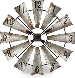 Best windmill blade wall clock Reviews