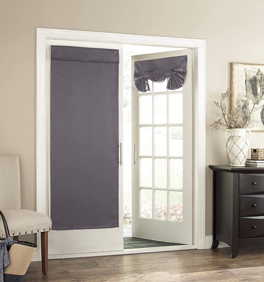 Eclipse 14898026068GRE Tricia 26-Inch by 68-Inch Thermal Single Door Panel, Grey