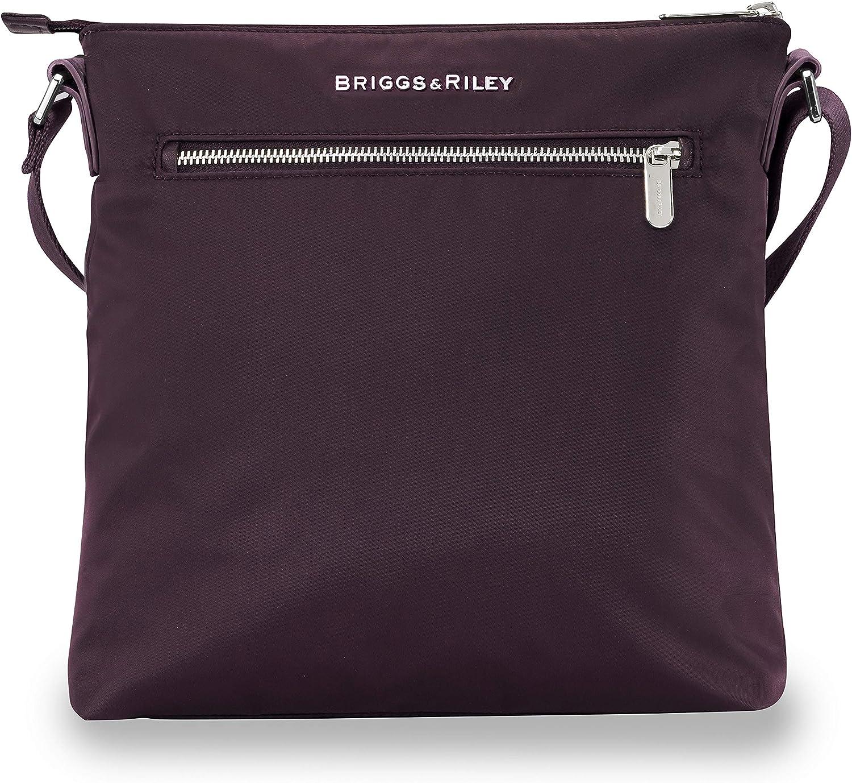 Briggs & Riley Rhapsody-Cross Body Bag, Plum, One Size