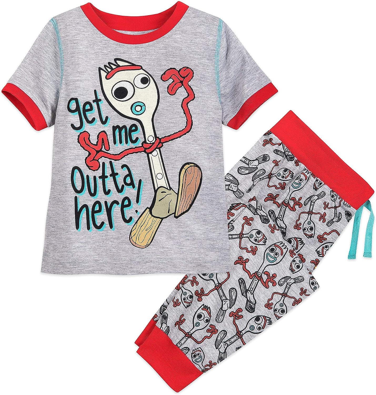 Disney Forky Pajama Set for Boys - Toy Story 4 Size Multi