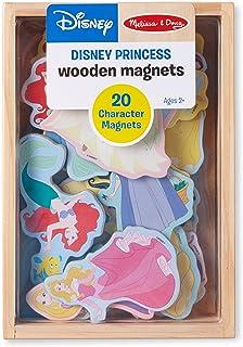 Melissa & DougディズニープリンセスWooden Magnets?–?20文字マグネット