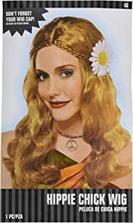 Hippie Chick Wig Costume Accessory