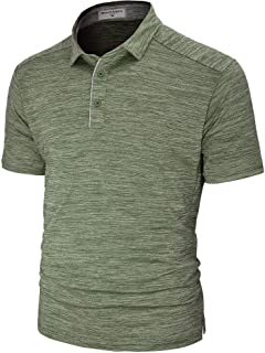 Men's Polo Shirts Short Sleeve Quick Dry Athletic Golf T-Shirts