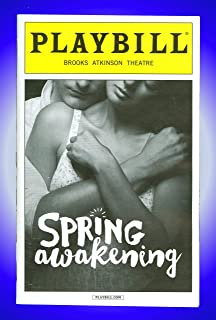 Spring Awakening, Broadway playbill + Camryn Manheim, Patrick Page, Russell Harvard, Sandra Mae Frank, Daniel N. Durant