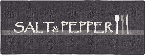 Hanse Home Küchenläufer Salt Pepper Grau Creme 67x180 Cm
