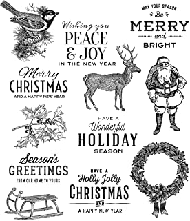 Stampers Anonymous ClingStamp TH Festive Overlay, None