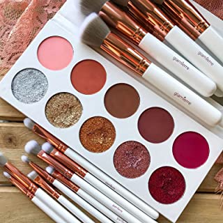 Glamierre Glitz Glam Eyeshadow Palette - Make your eyes stand out & glow with gorgeous matte and glitter shades! Our eye shadows can be used wet or dry for the finest applications. High-Pigment