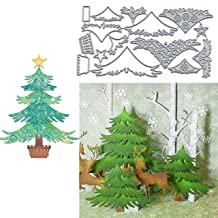 10 die cut banners Merry Christmas card topper embellishments