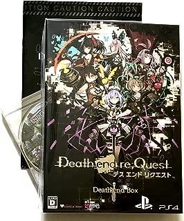 Death end re;Quest Death end BOX 【限定版同梱物】・ナナメダケイ描き下ろし収納BOX ・ビジュアルアートワーク ・オリジナルサウンドトラックCD ・秘蔵データ素材集CD-ROM ・クリアビジュアルポスターセット 【予約特典】PCゲーム『END QUEST』 (CD-ROM) &【店舗限定初回特典】 バッドエンド画集『Death end Note』付 - 【外付け特典】 B2タペストリー付き -PS4