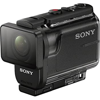 Sony HDRAS50R/B Full HD Action Cam + Live View Remote (Black)